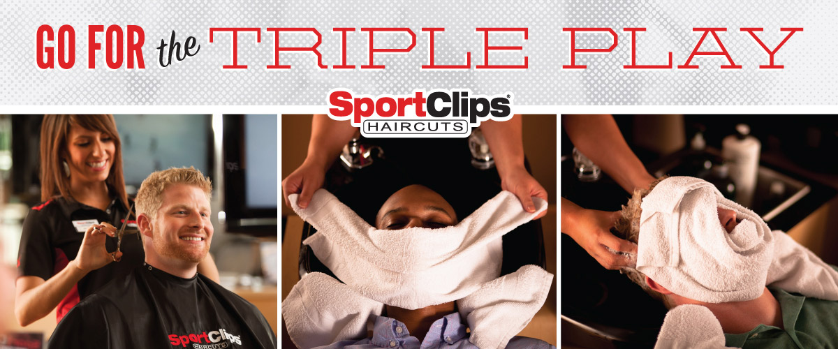 The Sport Clips Haircuts of Northridge  Triple Play